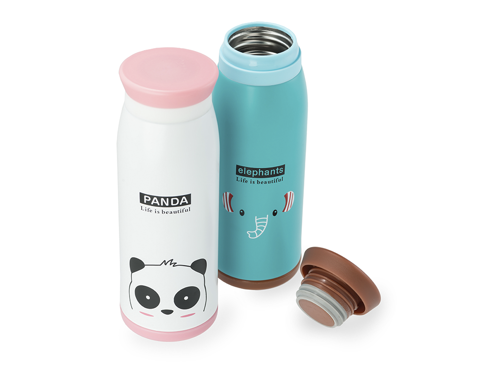 HAPPY CARE. Colorful Stainless Steel Thermos