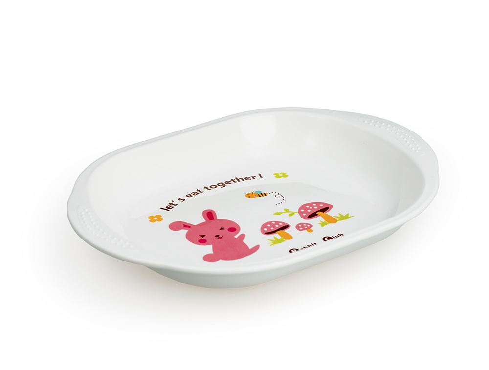 HAPPY CARE. Colorful Feeding Plate