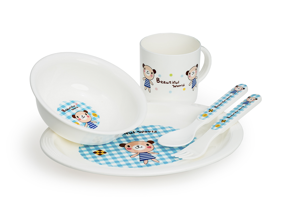 HAPPY CARE. Toddler Feeding Set