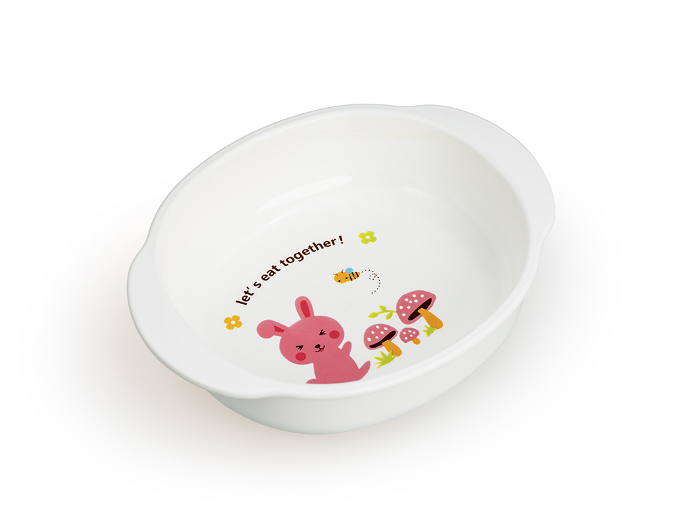 HAPPY CARE. Colorful Feeding Bowl