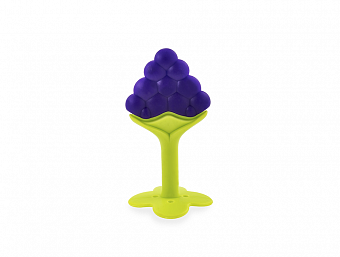HAPPY CARE. Silicone Teether Grape